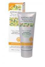 Andalou Naturals 1162734 Radiant Skin Polish Chia plus Omega Brightening 2 fl oz - 58 ml - 2 oz