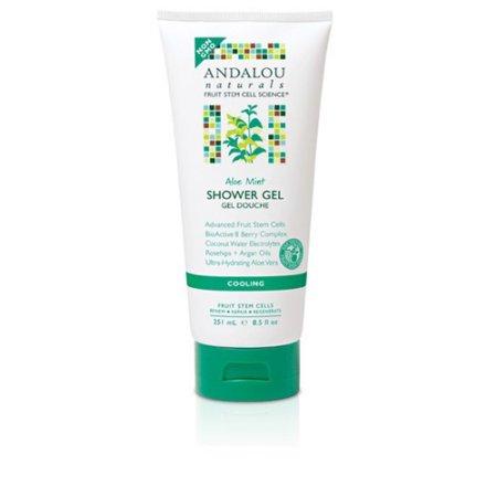 Andalou Naturals 1599661 8.5 fl. oz Shower Gel - Aloe Mint Cooling