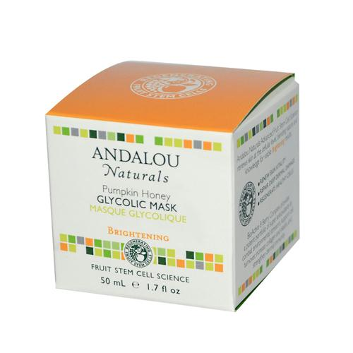 Andalou Naturals 787499 Andalou Naturals Glycolic Brightening Mask Pumpkin Honey - 1.7 fl oz