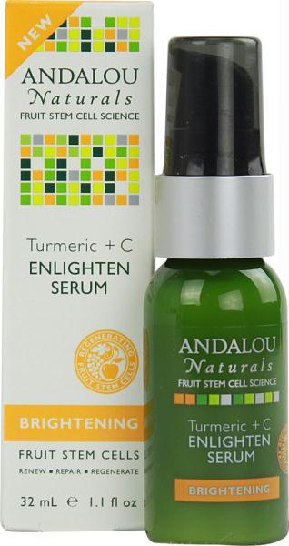 Andalou Naturals AY42442 Andalou Naturals Turmeric+c Enlighten Serum -1x1.1 Oz