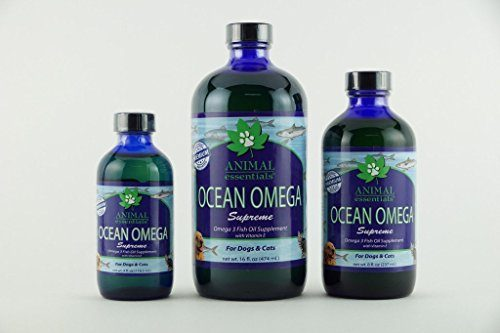 Animal Essentials 12000817 Ocean Omega Supreme Fish Oil 16 oz