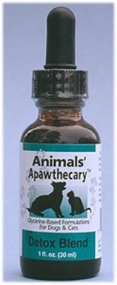 Animal Essentials 796289000113 Detox Allergy Blend Liquid for Dogs & Cats Tonic 1 oz