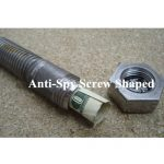 Ankaka S50716 Anti Spy Screw Shaped Security Cash Box For Spare Key & Cash