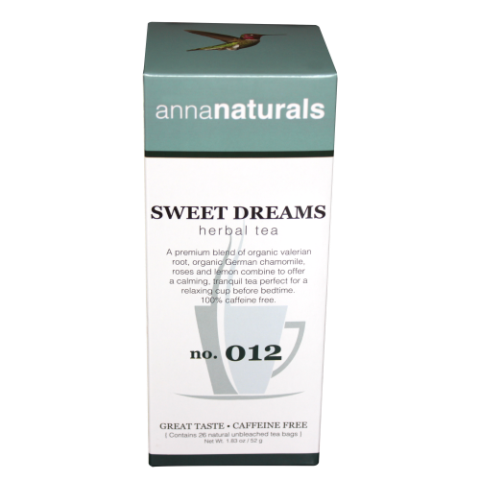Anna Naturals ANSWEETTEA Everyday Blend - Sweet Dreams Tea