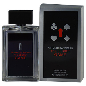 Antonio Banderas 273611 3.4 oz The Secret Game Eau De Toilette Spray for Men