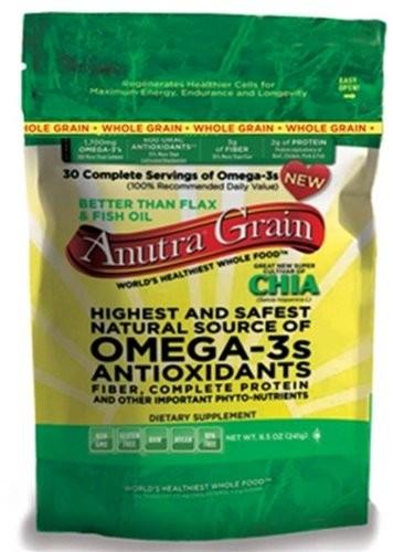 Anutra 1385343 Anutra Omega 3s - Whole Grain - 8.5 oz