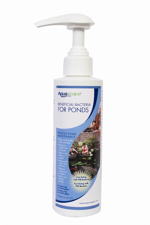 Aquascape 98886 250ml-8.5oz Beneficial Bacteria for Ponds-Liquid