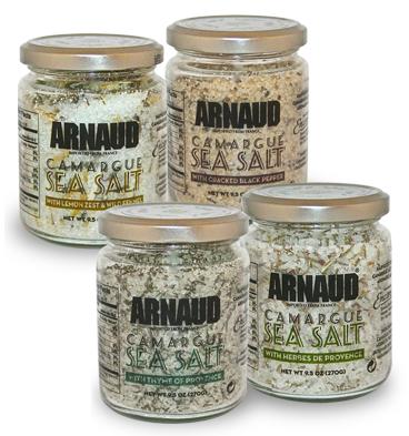 Arnaud 23326 Camargue Sea Salt - Thyme 8.8 oz. Pack of 6