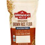 Arrowhead Mills 1839588 24 oz Gluten Free Organic Brown Rice Flour - Case of 6
