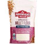 Arrowhead Mills 1839604 23 oz Gluten Free Organic Millet Flour - Case of 6