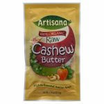 Artisana 100 % Organic Raw Cashew Butter 1.19-Ounce Packets -Pack of 10