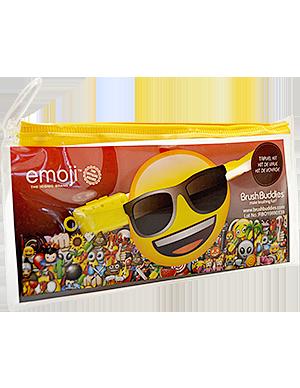 Ashtel Studios 00335-24 Emoji Eco Travel Kit - Toothbrush Cap & Pouch - Pack of 10