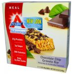 Atkins 0459388 Advantage Bar Chocolate Chip Granola - 5 Bars