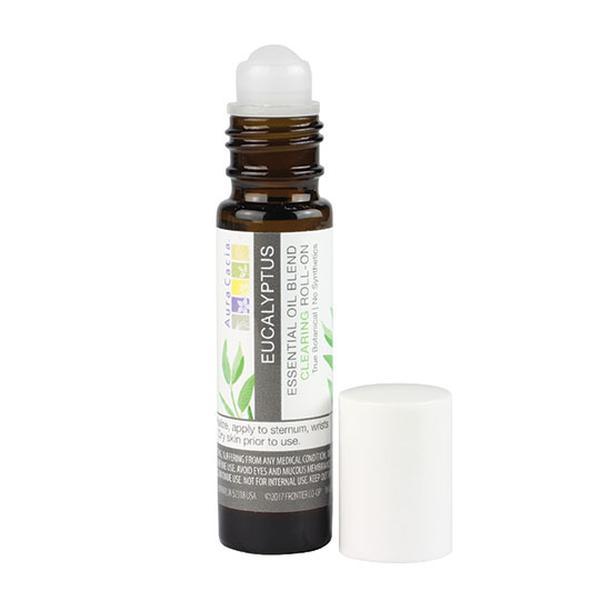 Aura Cacia 192112 0.31 fl oz Eucalyptus Roll-On Essential Oil Blend