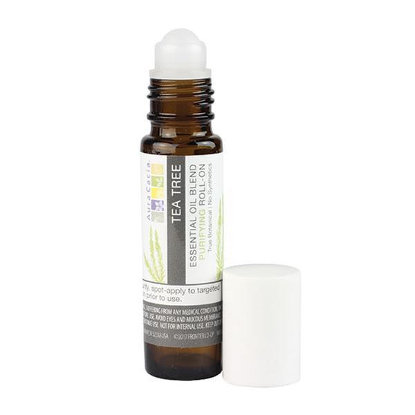 Aura Cacia 192113 0.31 fl oz Tea Tree Roll-On Essential Oil Blend