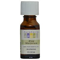 Aura Cacia 288474 Essential Oils 0.5 oz Wild Marjoram-Essential Oil