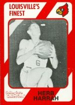 Autograph Warehouse 101873 Herb Harrah Basketball Card Louisville 1989 Collegiate Collection No. 93