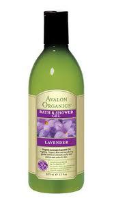 Avalon 12 oz Organics Bath & Shower Gel - Lavender