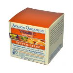 Avalon 633768 Avalon Organics Renewal Facial Cream Vitamin C - 2 oz