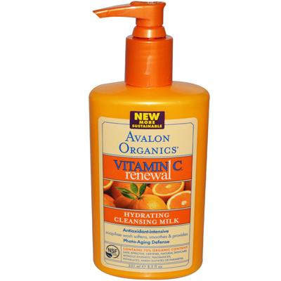 Avalon Organics Hydrating Cleansing Milk Vitamin C - 8.5 Fl Oz