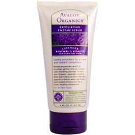 Avalon Organics Lavender Exfoliating Enzyme Scrub 4 fl. oz. Advanced Care for Sensitive Skin 213850