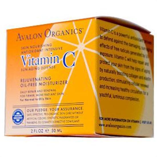 Avalon Organics Vitamin C Skin Care Vitamin C Rejuvenating Oil-Free Moisturizer 2 fl. oz. 219164