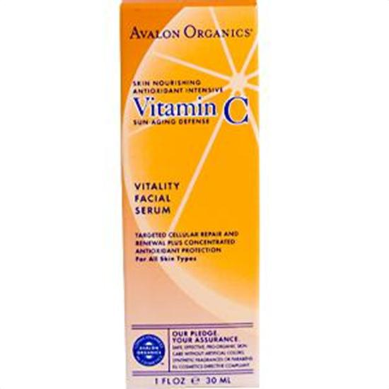 Avalon Organics Vitamin C Skin Care Vitamin C Vitality Facial Serum 1 fl. oz. 213814