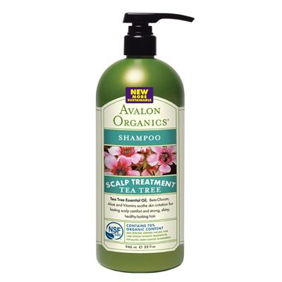 Avalon Shampoo - Organic Tea Tree - 32 Oz