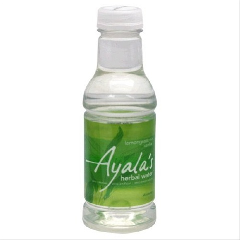 Ayala Lemongrass Mint Vanilla Herbal Water 16 Oz -Pack of 12
