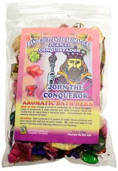Azure Green RBHJOHC John The Conqueror Bath Herb