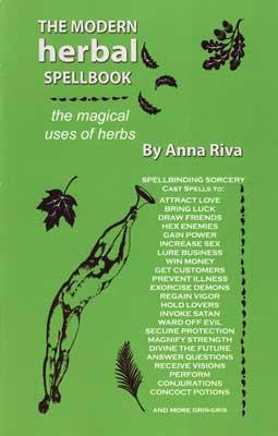 AzureGreen BMODHER0SP Modern Herbal Spellbook By Anna Riva