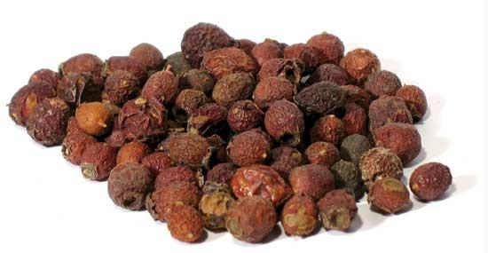 AzureGreen H16HAWW 1oz Hawthorn Berries Whole - Crataegus laevigata