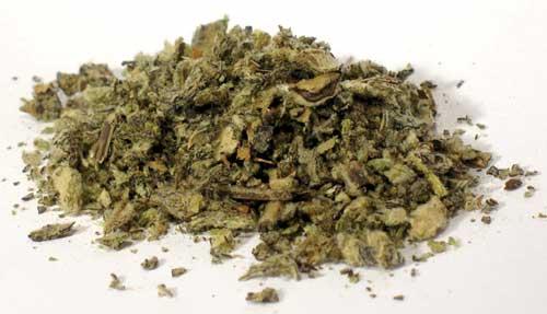 AzureGreen HMULC 2 oz Mullein Leaf Cut - Verbascum Thapsus