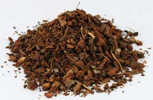 AzureGreen HWHIOCB 1 Lb White Oak Bark Cut - Quercus Alba