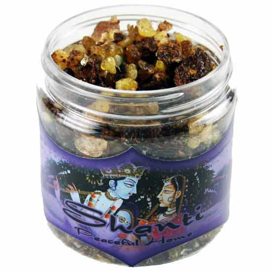 AzureGreen IRJSHA 2.4 oz Jar Shanti Resin Incense