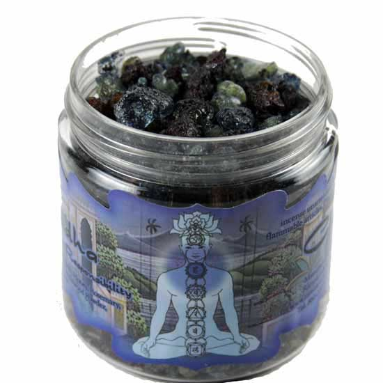 AzureGreen IRJVIS 2.4 oz Jar Visuddha Resin Incense