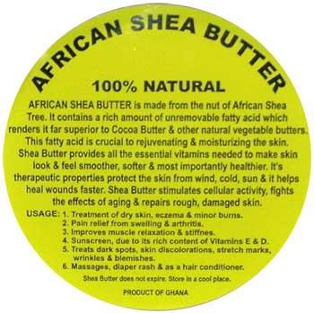 AzureGreen LSSHEB Shea Butter Salve 16Oz