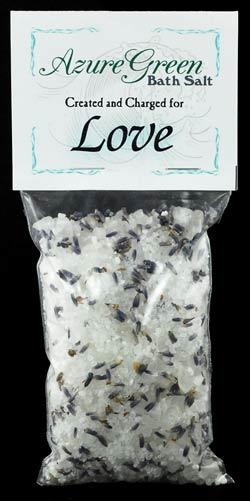 AzureGreen RBLOV Love Bath Salts 6 Oz