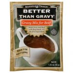 BETTER THAN GRAVY GRAVY MIX BEEF-1 OZ -Pack of 12