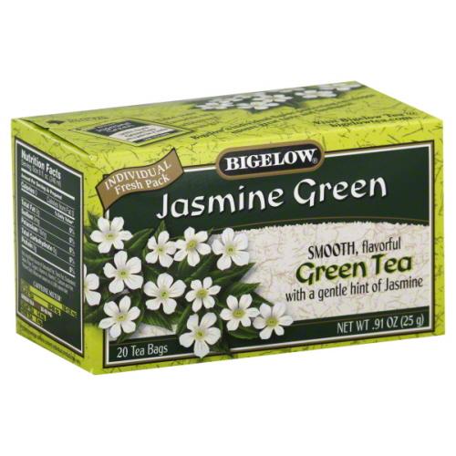 BIGELOW TEA GRN JASMINE-20 BG -Pack of 6