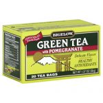 BIGELOW TEA GRN PMGRNT-20 BG -Pack of 6
