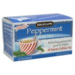 BIGELOW TEA HERB PURELY PPPRMNT-20 BG -Pack of 6