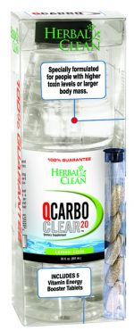 BNG Enterprises 222109 20 oz Clear QCarbo Lemon Lime Fluid