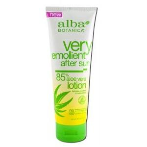 BPC1025713 Alba Botanica Aloe Vera 85% After Sun Lotion - 8 Oz