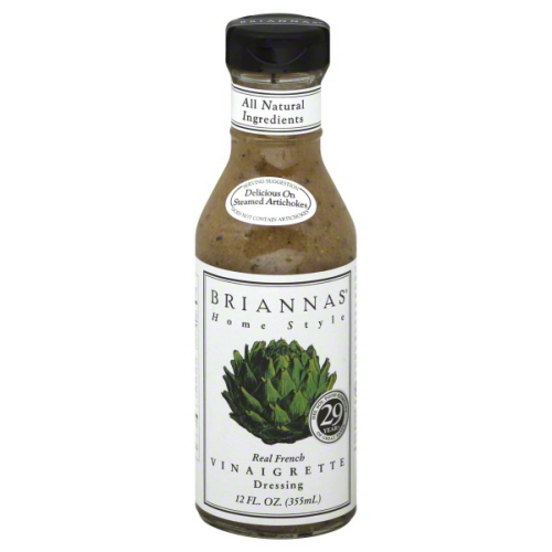BRIANNAS DRSSNG FRENCH VINEGAR-12 OZ -Pack of 6