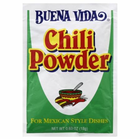 BUENA VIDA VIDA CHILI POWDER-0.63 OZ -Pack of 24