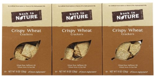 Back To Nature Crispy Wheats Cracke Roasted (Pack of 6)