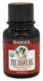 Badger Man Care Pre-Shave Oil 2 oz. Bottle