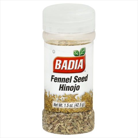 Badia Fennel Seed Hinojo 1.5-Ounce -Pack of 12
