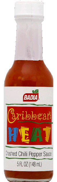 Badia Sauce Crushed Chili Pepper 5-Ounce Glass -Pack of 12